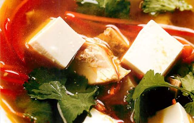 Суп из петуха по-азиатски