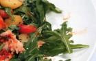 Теплые салаты