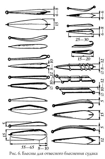 Техника отвесного блеснения при ловле судака