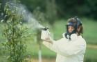 Способы обработки растений химическими веществами