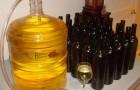 Вино абрикосовое столовое