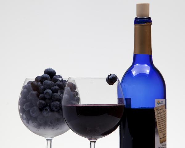 Вино черничное (второй вариант)