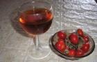 Вино из плодов шиповника (первый вариант)