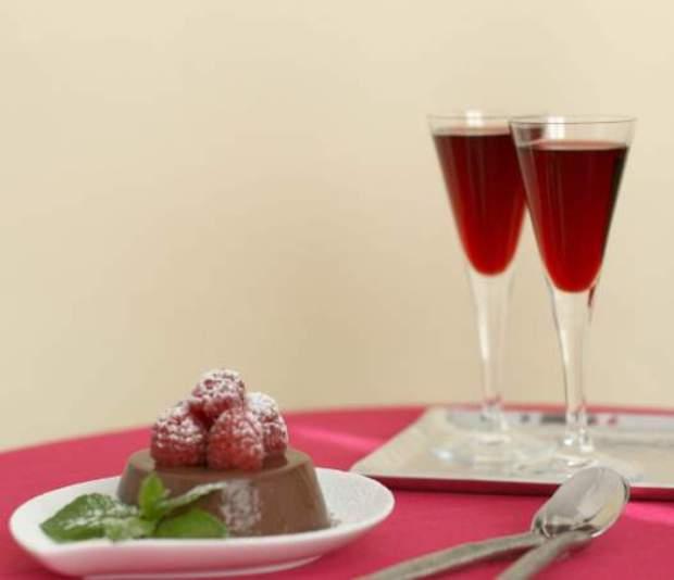 Вино малиново-медовое
