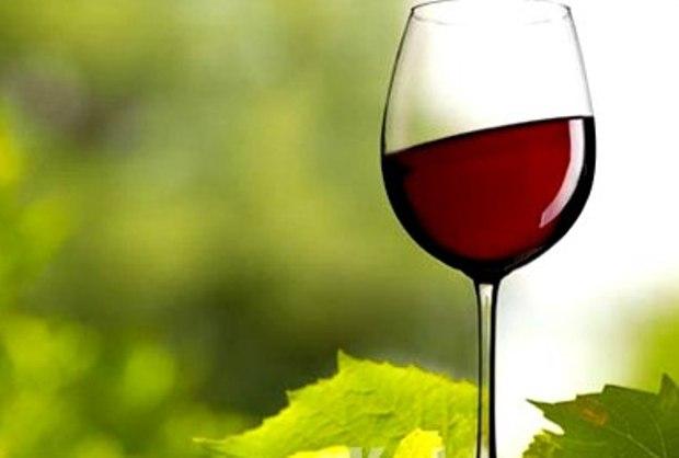 Вино натуральное из голубики