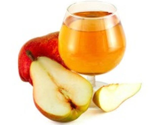 Вино яблочно-грушевое десертное