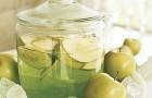 Водка яблочная с корицей (второй вариант)