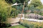 Проект сада «Утопающий в зелени»