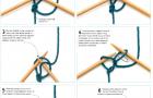 Набор петель с вязаным краем