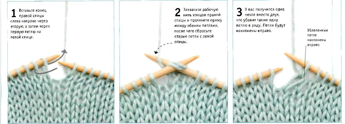 О вязание спицами простые петли