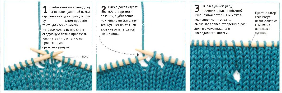 Как сделать отверстия для пуговиц в вязании 17