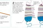 Вязание ног и рук игрушки