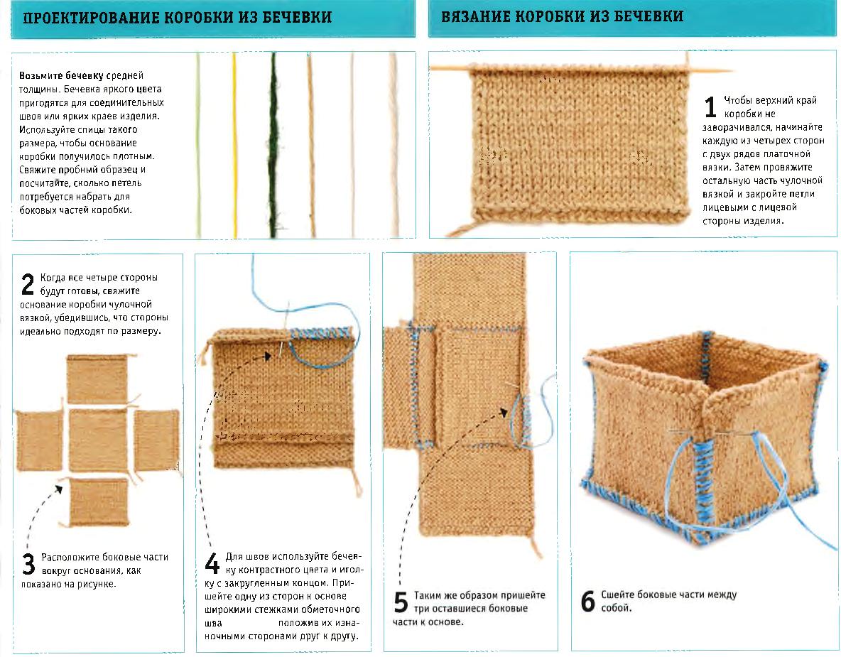 Вязание из бечевки