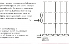 Инструкция по вязание полотна полустолбиками
