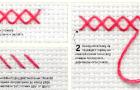 Ряд из простых крестов: метод 1