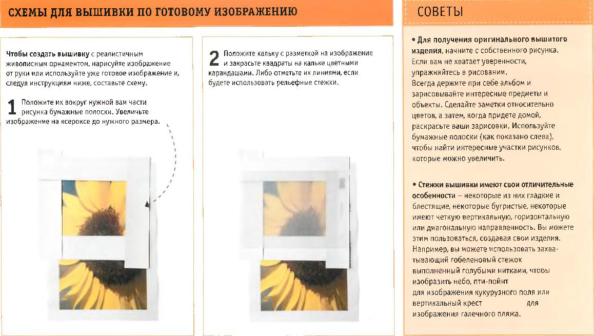 Схемы для вышивки по готовому изображению