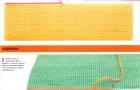 Пластиковая канва и соединение вышивок