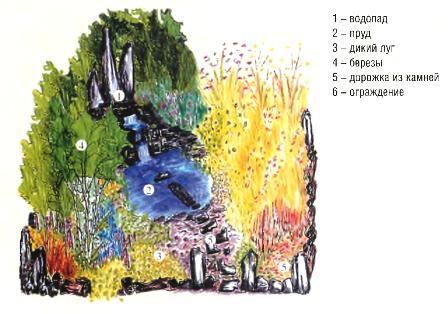 Проект сада «Сад как биосистема»