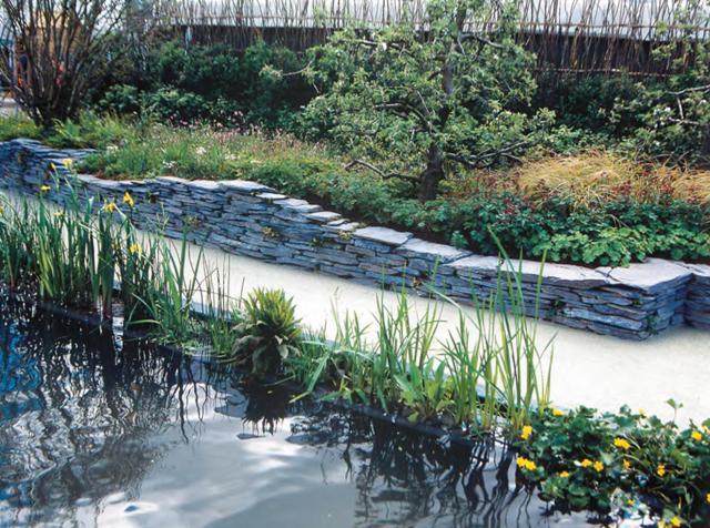 Проект сада «Идеально для купания»