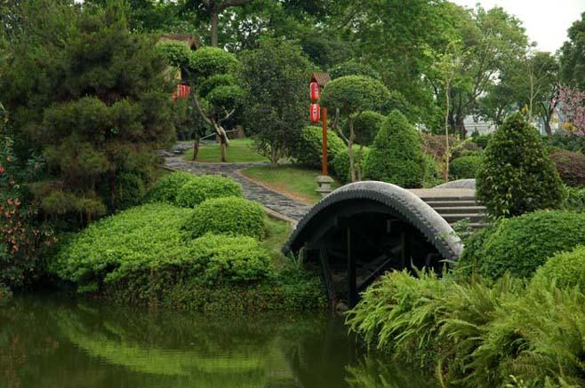 Асимметрия японского сада