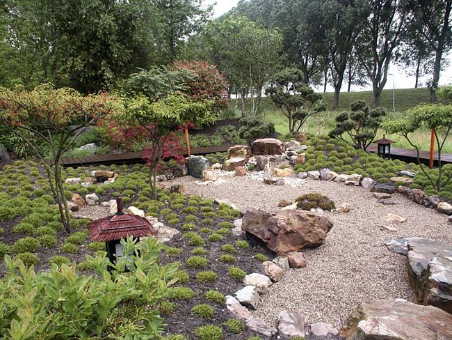 Дорожки для японского сада