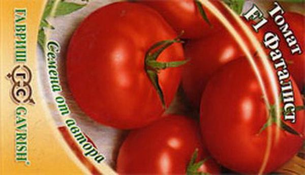 Сорт томата: Фаталист   f1