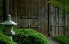 Фонари в японском саду