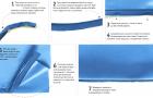 Покрытие и вставка отделочного шнура