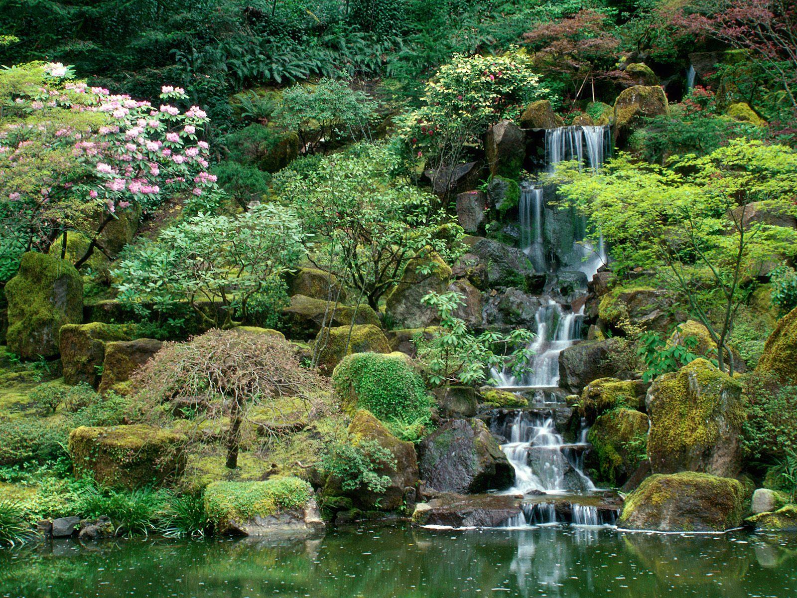 Пространство японского сада