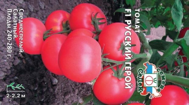 Сорт томата: Русский герой   f1