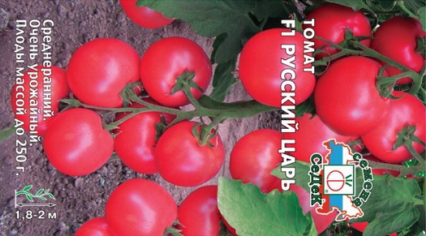 Сорт томата: Русский царь   f1