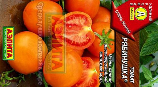 Сорт томата: Рябинушка