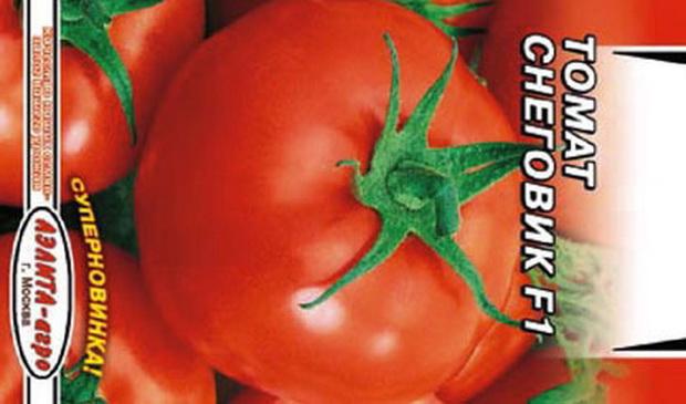 Сорт томата: Снеговик   f1
