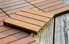 Создание квадратного деревянного настила