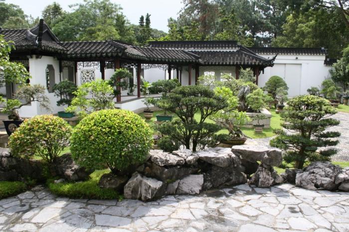 Создание сада вдоль дома