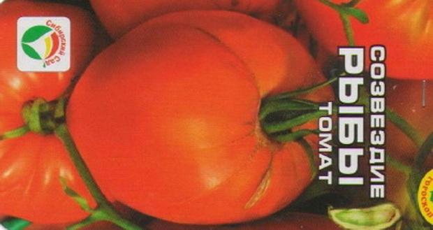 Сорт томата: Созвездие рыбы