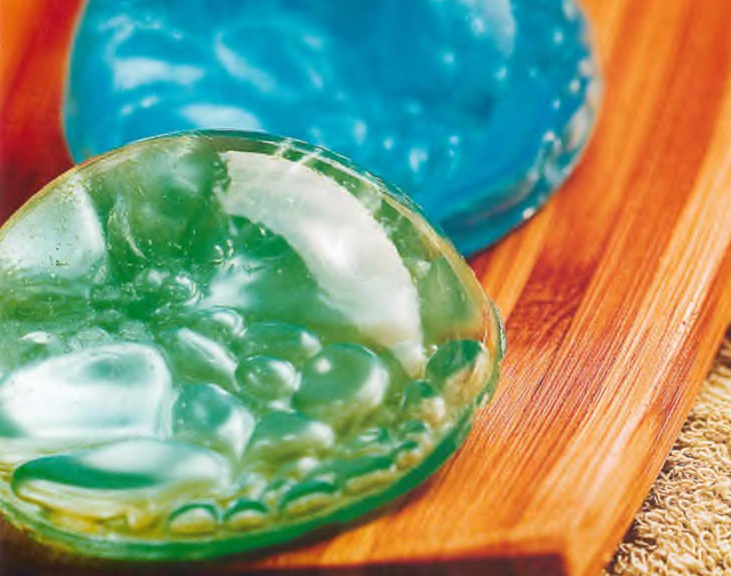 Мыло в виде стеклянного шарика