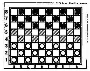 Русские шашки на восьмидесятиклеточной доске