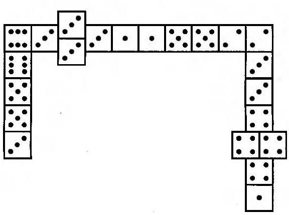 Традиционное домино (западноевропейский вариант)
