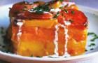 Батат с абрикосовой глазурью