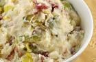 Картофельное пюре с луком-пореем