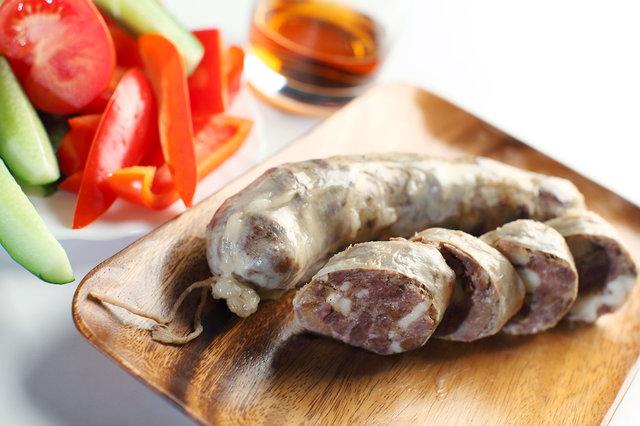 Казахская конская копченая колбаса