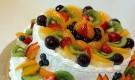 Классический пирог с фруктами
