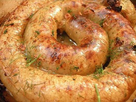 Литовские домашние колбаски