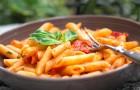 Паста с домашним томатным соусом