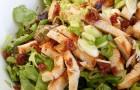 Салат из индейки с сушеными вишнями