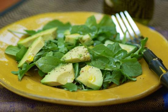 Салат с грибами и фенхелем