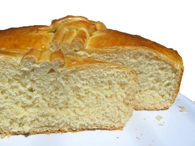 Старомодный белый хлеб