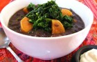 Суп с черной фасолью