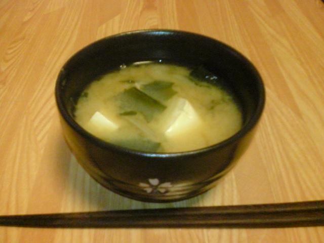 Суп с мисо